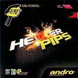 ANDRO Belag Hexer Pips, rot, 2,1 mm