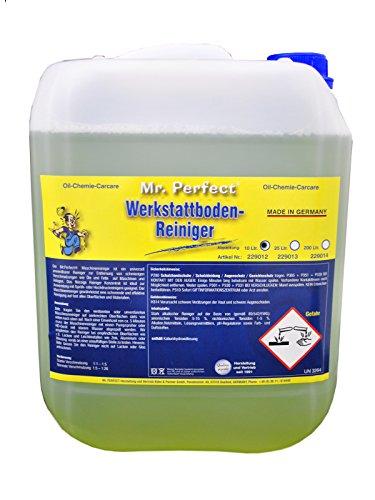Mr. Perfect® Werkstattreiniger Konzentrat, 10 Liter - Werkstattbodenreiniger, Industriereiniger