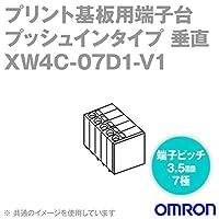 オムロン(OMRON) XW4C-07D1-V1 (10個入) コネクタ端子台電線側端子台 垂直タイプ 7極 (端子ピッチ3.5mm) NN