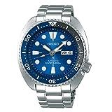 SEIKO Prospex Turtle Save The Ocean Diver's 200M Reloj automático de Acero con Esfera Azul SRPD21K1