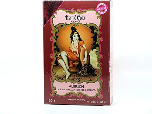 Henné Color Poudre Colorante Auburn 100g
