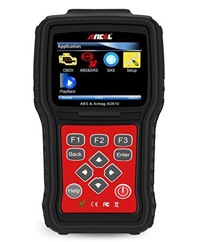 ANCEL AD610 Professional Updateable Car Engine ABS SAS Airbag OBD II Scanner Code Reader Diagnostic...
