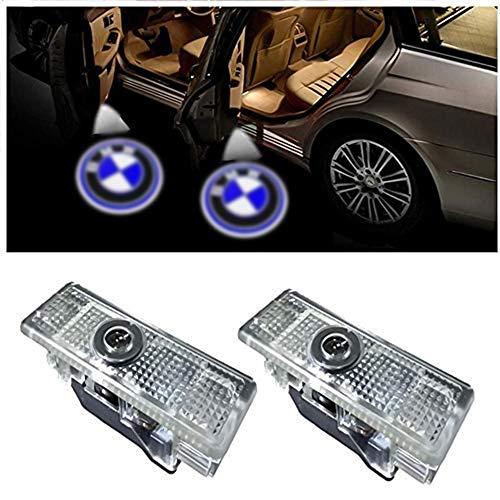 2 luces de puerta de coche para B-M-W