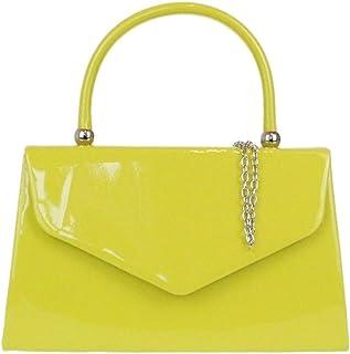 Girly HandBags, Poschette Giorno Donna W 23, H 15, D 7 cm (W 9, H 6, D 3 Inches), Giallo (Mustard), W 23, H 15, D 7 cm (W ...