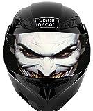 V16 Joker VISOR TINT DECAL Graphic Sticker Helmet Fits: Icon Shoei Bell HJC Oneal Scorpion AGV