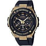 [カシオ] 腕時計 ジーショック G-STEEL 電波ソーラー GST-W300G-1A9JF メンズ ブラック