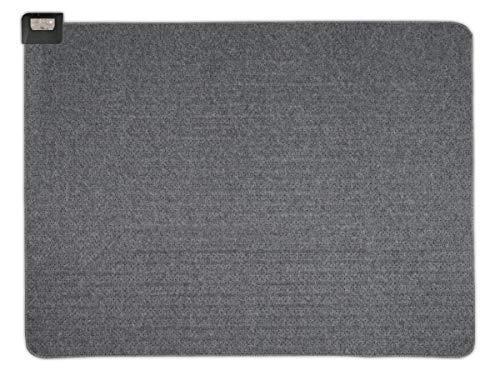 モフア ホットカーペット 1.5畳 本体 128×176cm グレー 軽い 小さく畳める ダニクリーン スライド式温度調節 MPU151