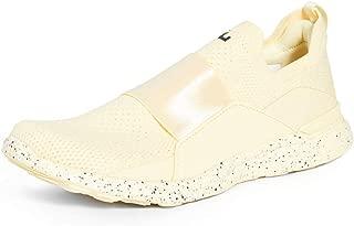 APL: Athletic Propulsion Labs Women's Techloom Bliss Sneakers, Lemon Zest/Navy/White, 7.5 Medium US