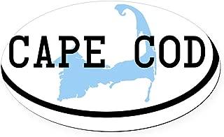 CafePress Cape-Cod-Oval Oval Car Magnet, Euro Oval Magnetic Bumper Sticker