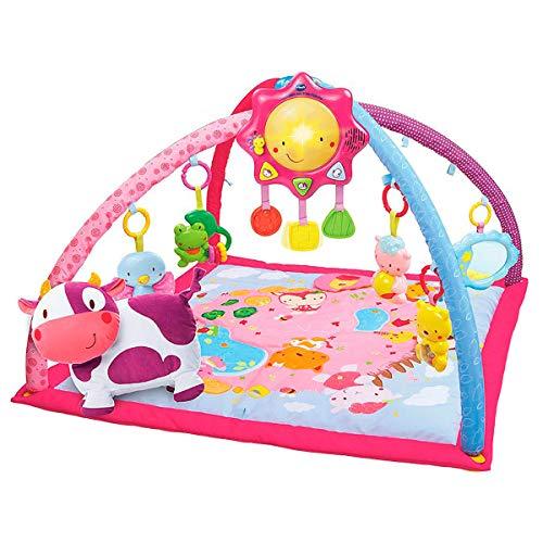Manta de actividades para bebés VTech color rosa