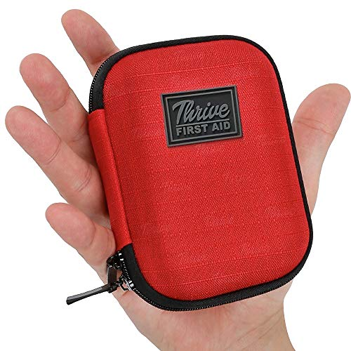 Thrive First Aid Kit – 66 Pieces – Small and Light Soft Shell Case
