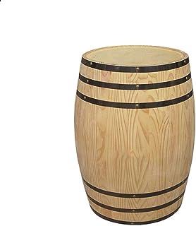 Tonneau à vin en Bois Tonneau de vieillissement du Whisky, Tonneau Vintage en Chêne 10L, Convient à Vinification ou Stocka...