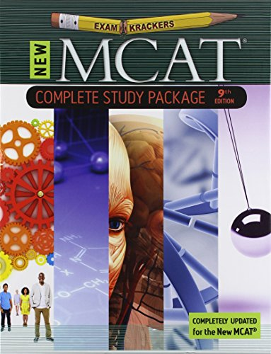 ExamKrackers MCAT Complete Study Package/ 6 Book Package
