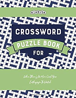 Crossword Puzzle Book for When There's No More Curb Your Enthusiasm To Watch
