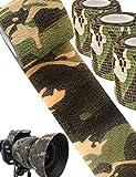 Saxx Lot de 3 Rubans de Camouflage pour extérieur, imperméables et réutilisables,...