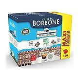 Caffè Borbone - 120 cápsulas compatibles con cafeteras Lavazza Nespresso - Sabor decisa