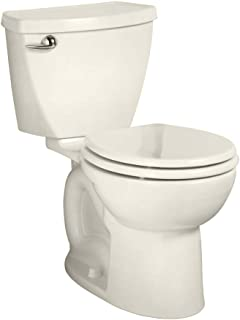 American Standard 270BA001.222 Cadet 3 Right Height Round Front Two-Piece Toilet with 12-Inch Rough-In, Linen