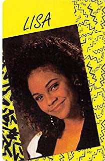 Lark Voorhies as Lisa trading game card Saved by the Bell #48 Size 2x3 inches