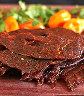 Mahogany Smoked Meats Habanero Turkey Jerky (4oz.)