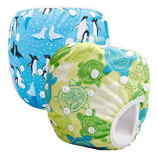 Storeofbaby Pañales reutilizables bebé pañales lavable pañales de tela cubierta para niños niñas