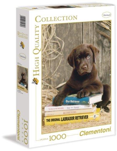 Clementoni 39230.8 - Puzzle High Quality Collection, auf Büchern ausruhen, 1000 Teile
