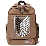 Kicat® Attack on Titan Mochila Cosplay (Marrón)