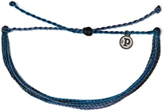 Pura Vida Jewelry Bracelets Muted Bracelet - 100% Waterproof and Handmade w/Coated Charm, Adjustable Band