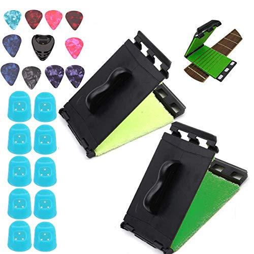 Xumier 2pcs limpiador cuerdas guitarra electrica Cuerdas y Diapasón cuerdas Cuidado mantenimiento...