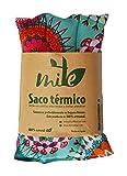Saco térmico de semillas y hierbas multiusos (45cm x 15cm) Lavanda - MITE (Mandala)