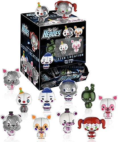 Five Nights At Freddy/'s SET 12 FIGURE SISTER LOCATION FUNKO Pint Size