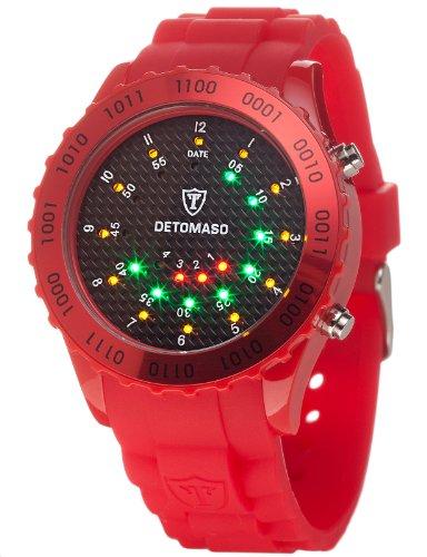 DETOMASO Unisex-Armbanduhr Digital Quarz DT2015-E