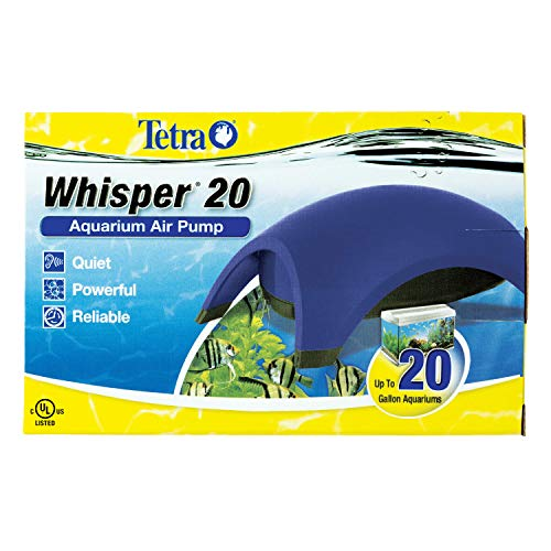 Tetra Whisper Air Pump, For aquariums, Quiet, Powerful Airflow