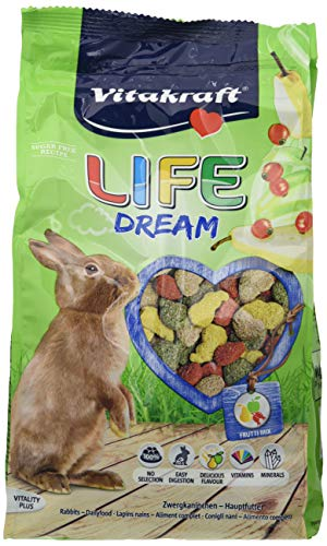 Vitakraft 1571260031 - Menu para Conejos Life Dream 600 gr