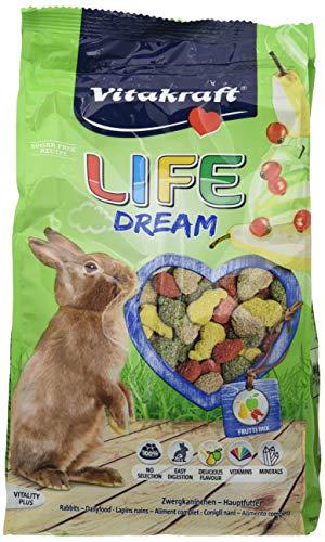 VITAKRAFT Life dream conigli nani 600gr - Mangimi roditori