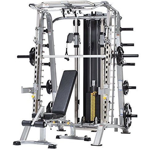 Find Bargain Tuff Stuff Fitness CSM-725WS Evolution Smith Machine / Half Rack Package with Multi-Ang...