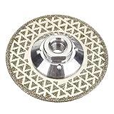 XUQIANG 65-125mm Rueda de Pulido de Diamantes M14 Baldosa de Porcelana de Diamante Delgada Hoja de Corte Seca Herramientas manuales de carpintería de Bricolaje (Color : 105mm)