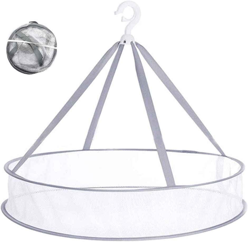 At Max 56% OFF the price Qtopun Foldable Hanging Mesh Dryer Rack Single-L Sweater Drying