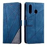 Galaxy A20 / Galaxy A30 Case, SONWO Premium Leather Flip