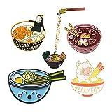 Juego de 5 broches de solapa esmaltados personalizados, para mochilas, bolsos, chaquetas, sombreros, joyas, accesorios de bricolaje