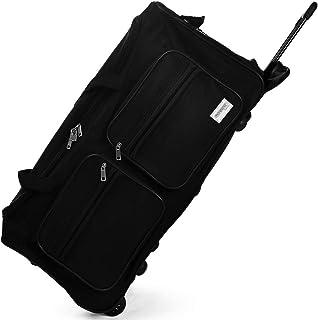 Deuba Bolsa de Viaje Deporte Maleta Negro 85 litros 70 x 36