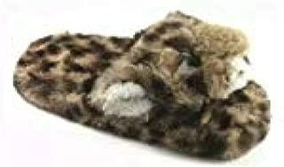 Leopard Scuff Slipper Cute Baby Tiger Girls Slippers