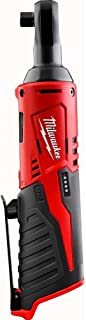 Milwaukee 2457-21 3/8-in Cordless M12 Lithium-Ion Ratchet Kit (Tool Only)