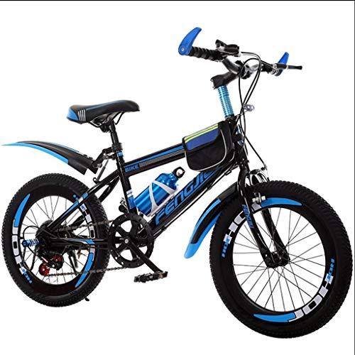 Xiaoping Vélo Vieux vélo 9-10-11-12-15 Ans for Enfants garçon de 20 Pouces Sport de Course de...