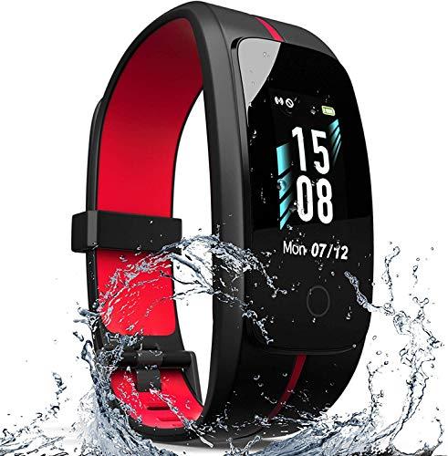 Fitness Activity Tracker - IP68 Waterproof Fitness...