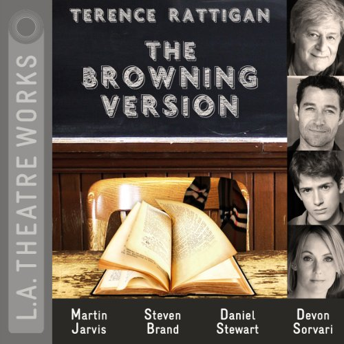 The Browning Version audiobook cover art
