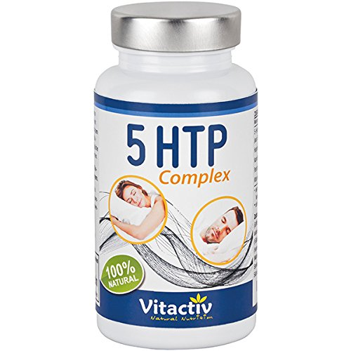 5-HTP Griffonia Complex, Hydroxytryptophan, mit Griffonia Simplicifolia, Hopfenblütenextrakt und...