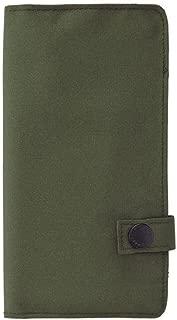 LIHIT LAB. Slim Pen Case, Olive, 7.5 x 4.3