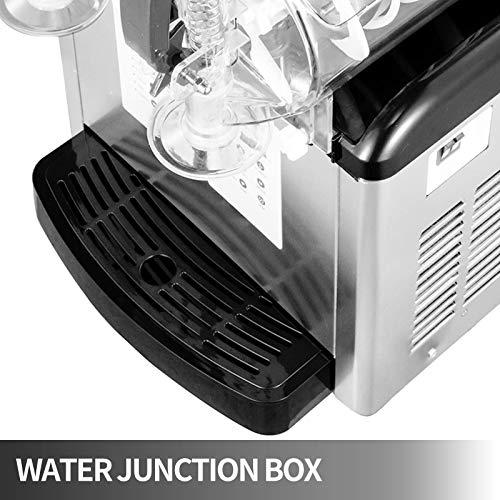 Home Appliances Kitchen Tools Slushy Machine 2 x 6L Daiquiri Machine Commercial Two Tanks Home Slush Machine 1000W Slush…