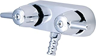 Central Brass 206 0 2-Handle Leg Tub Faucet, Chrome