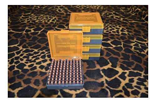 22 lr Ammo Box/Case/Storage (5 Pack) Capacity 100 / (NO Ammo)